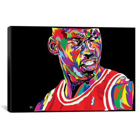 "Jordan Portrait // TECHNODROME1 (18""W x 26""H x 0.75""D)"
