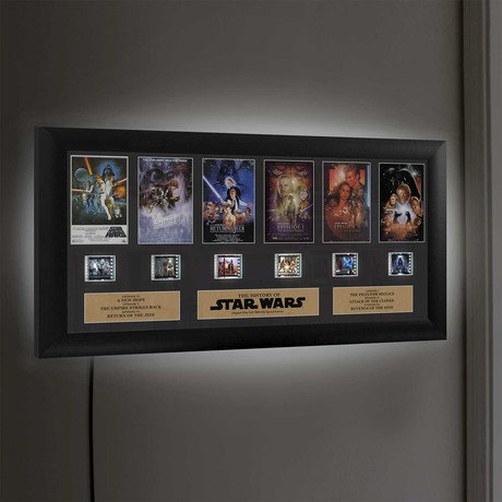 Star Wars Through The Ages // Montage + LED Light Panel