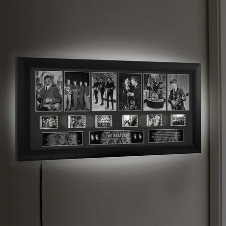 The Beatles // Wall Art + LED Back Lighting