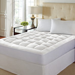 "Hotel Laundry // 1.5"" Washable Memory Foam Mattress Pad (Twin)"
