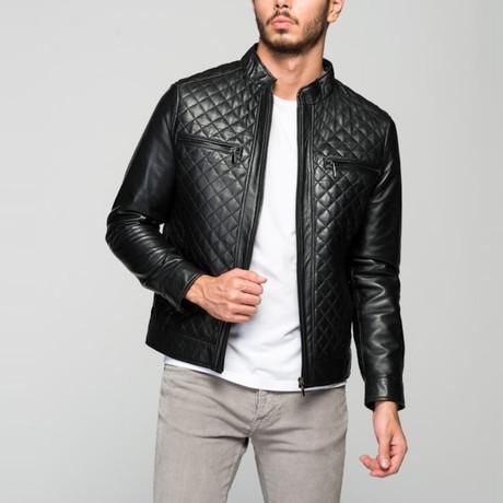 Parrinello Leather Jacket // Black (XS)