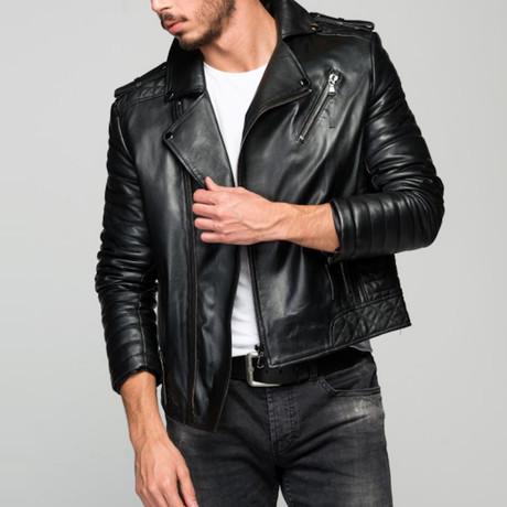 Sosteneo Leather Jacket // Black (XS)