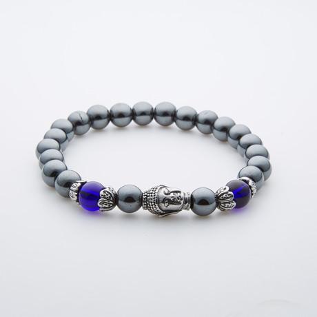 Buddha Ink Gem Stone Bracelet