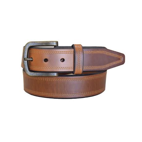 Crusader Belt // Cognac