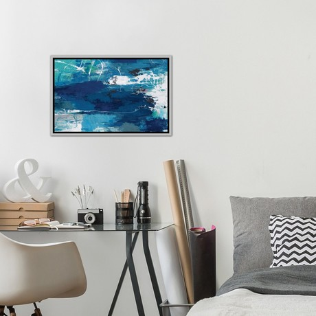 Blue Abstractions // PI Studio