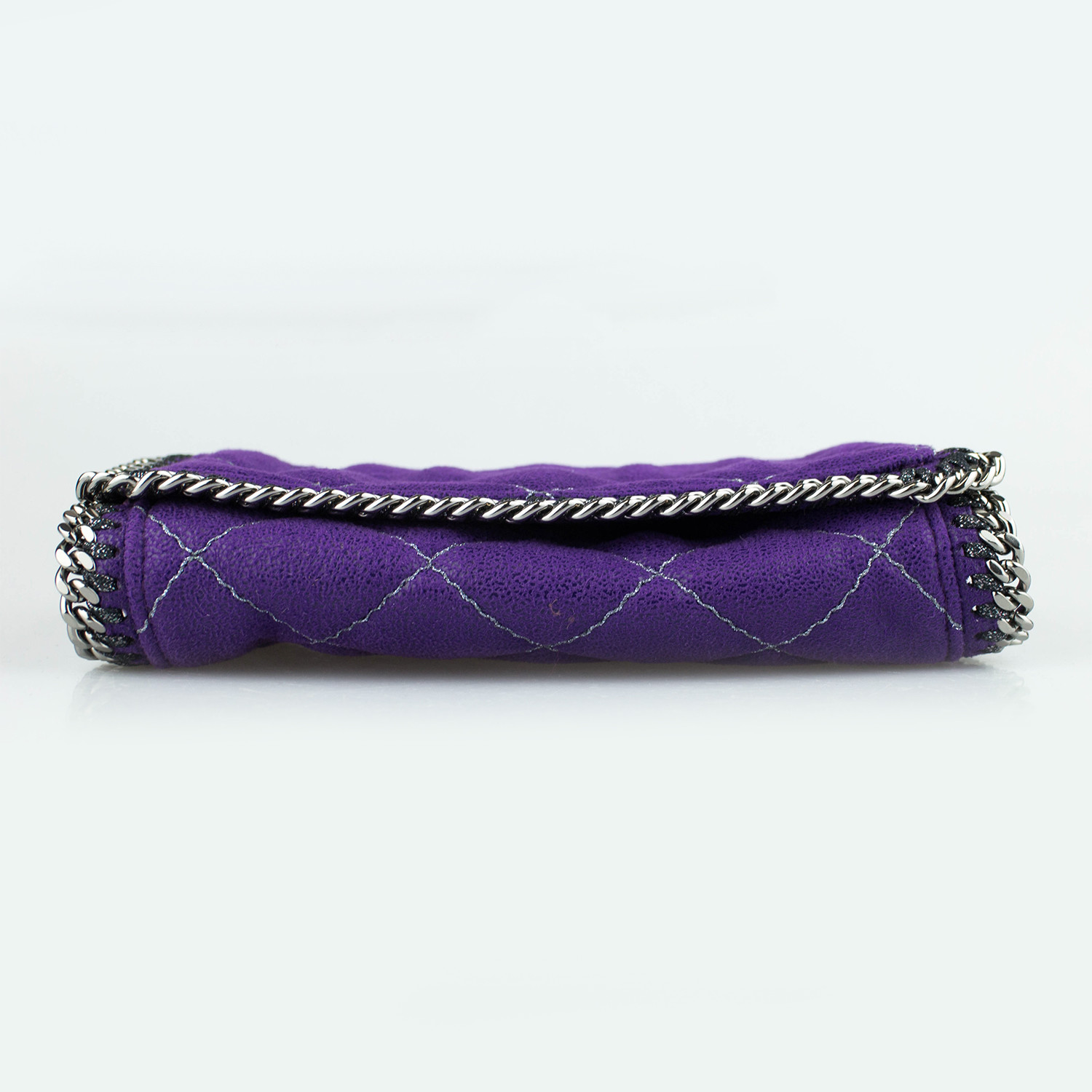 26a0a1dc61f7 Stella McCartney    Quilted Leather Falabella Crossbody Bag    Purple