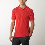 Pique Polo // Red (XL)