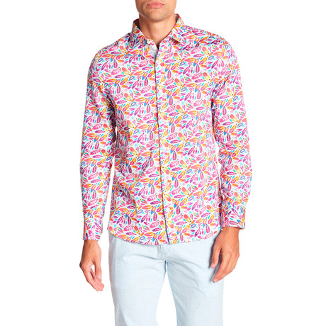 Langston Printed Dress Shirt // Multi (S)
