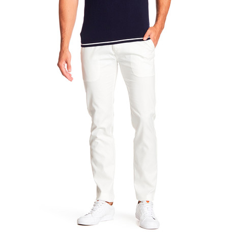 Towner Comfort Fit Dress Pant // White