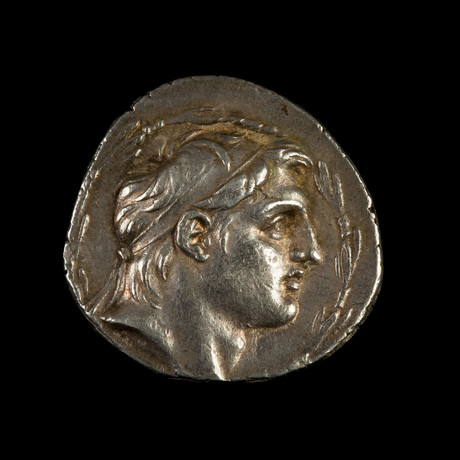 Authentic Silver Tetradrachm // Demetrius I Soter // 162-150 BCE