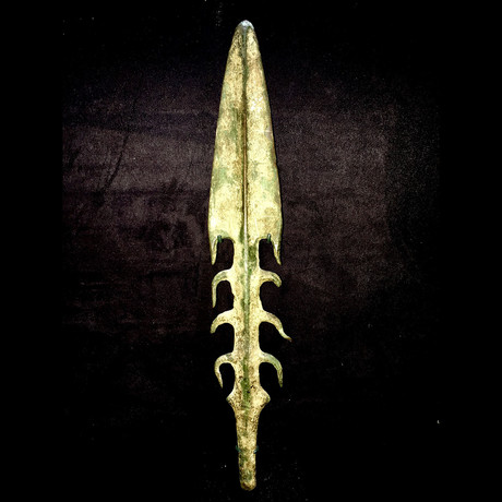 Indo-Gangetic Bronze Spearhead // 3,000 BCE India Bronze Age // 1