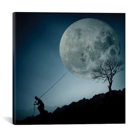 "The Dreamer // Final Toto (18""W x 18""H x 0.75""D)"
