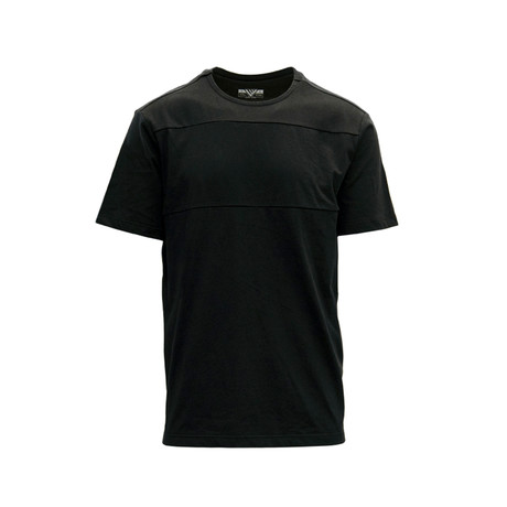 Disrupt SS Active Shirt // Black