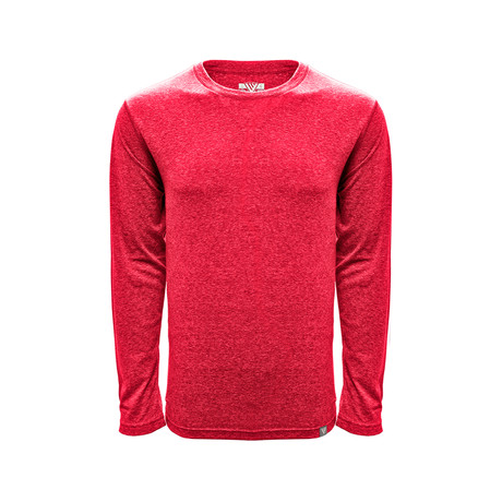 Mirage LS // Heather Flame Red
