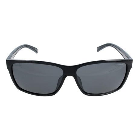 Rhett Sunglasses // Black Grey