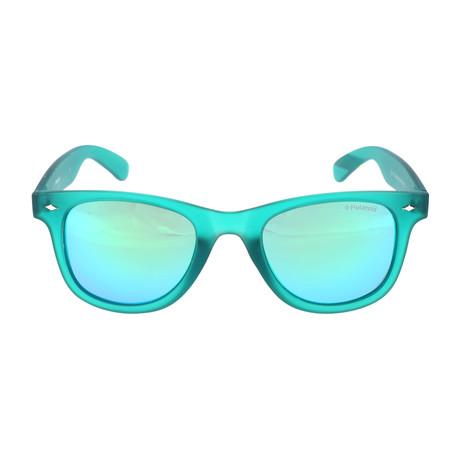 Skip Sunglasses // Teal Crystal