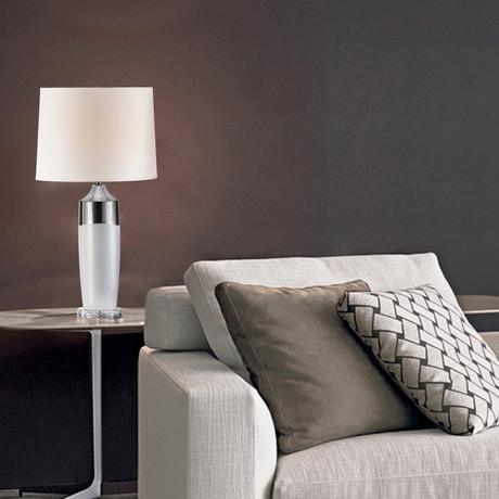 Splash Table Lamp // Waxy White