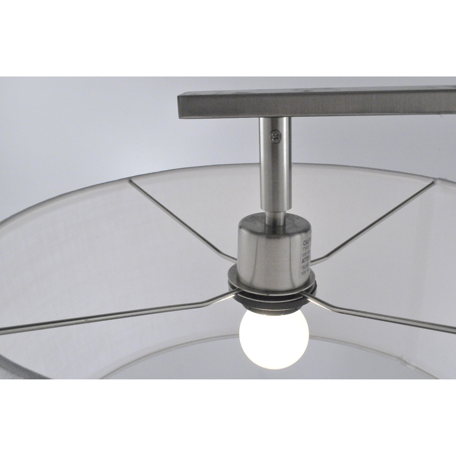 Library Table Lamp Brushed Nickel Nova Lamps Touch