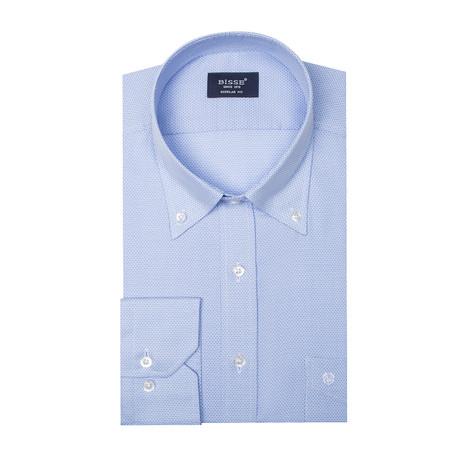 Phoenix LS Button Collar Shirt // Light Blue