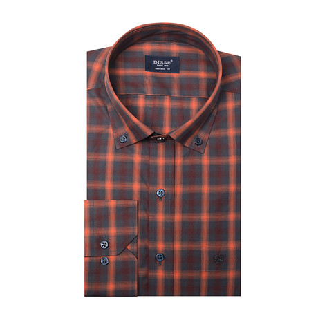 Raleigh LS Sport Shirt // Orange