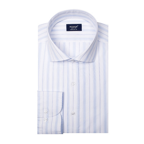 Pierre LS Italian Shirt // Blue