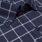 Madison LS Button-Up Shirt // Navy (2XL)