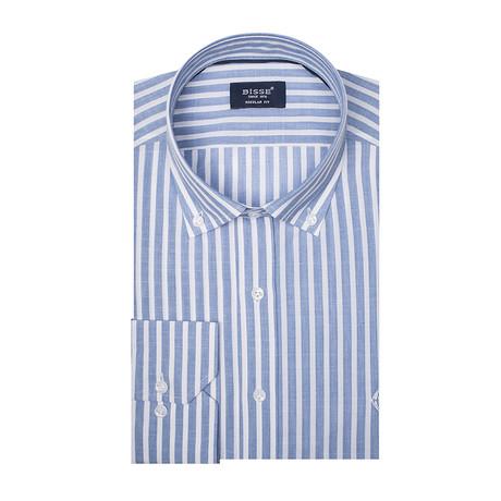 Montreal LS Sport Shirt // Blue