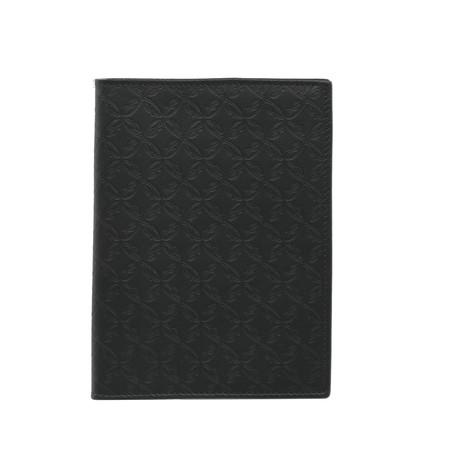 Travel Document Holder // Blue Pattern