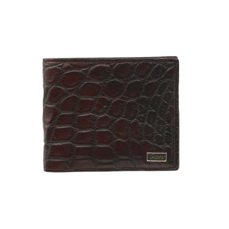 Bi-Fold Wallet // Aubergine + Black