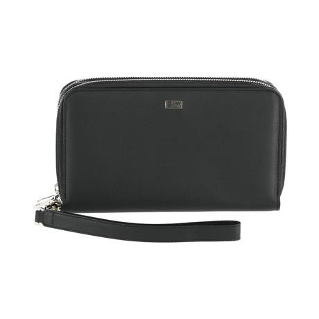 Zip Wallet // Black