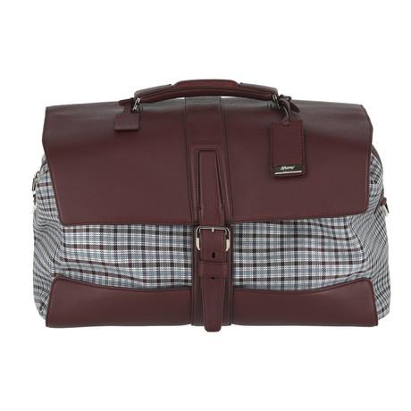 Weekend Travel Bag // Burgundy