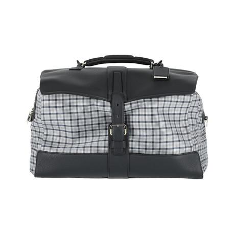 Weekend Travel Bag // Black + Gray