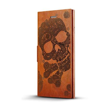 Skull Paisley Mandala // Glass Protector Bundle