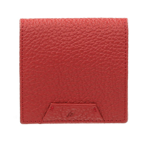 Coin Purse // Carnation Red