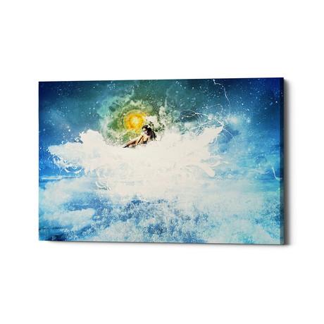 """Sun In My Mouth (26""""W x 18""""H x .75""""D)"""