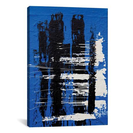 "Somber #2 // Shawn Jacobs (18""W x 26""H x 0.75""D)"