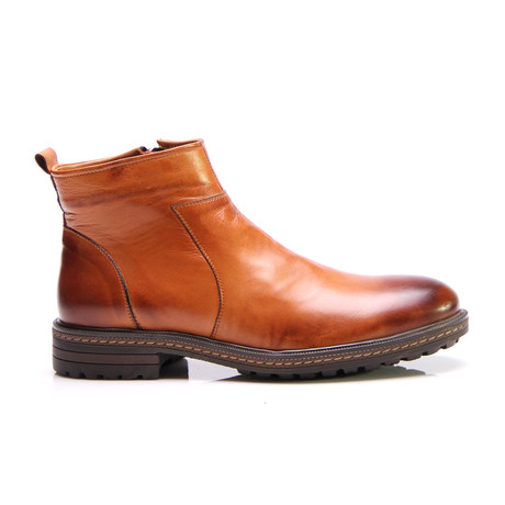 Minhtri Ankle Boot // Tobacco Antique