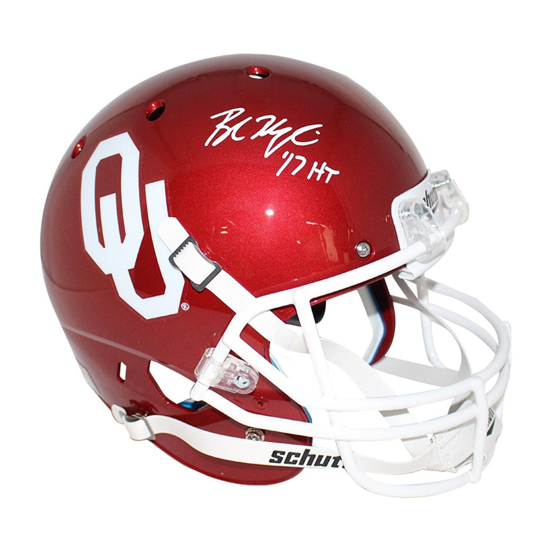 2d135c222ae80d8d8e1a639f0fa5549e medium. Baker Mayfield Signed OK Sooners  Replica Helmet ... 7ff427c1a