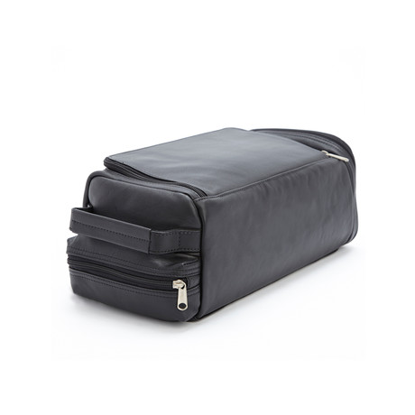 Golf Shoe Bag // Vegan Leather