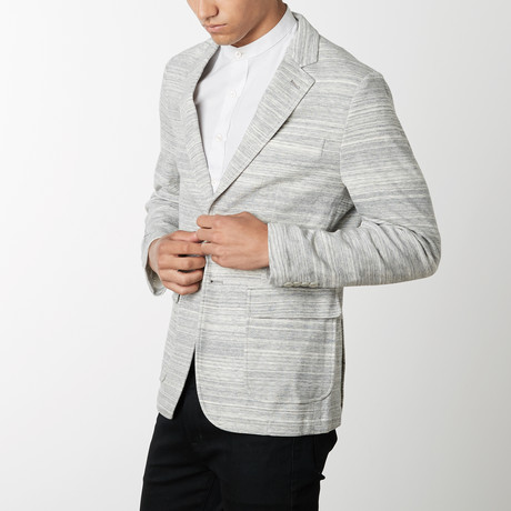 Double Face Knit Blazer