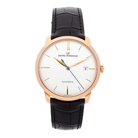 Girard Perregaux 1966 Claique Automatic // 49525-52-131-BK6A // Pre-Owned
