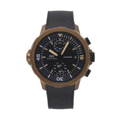 "IWC Aquatimer Chronograph ""Expedition Charles Darwin"" Automatic // IW3795-03 // Pre-Owned"