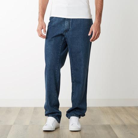 Toppa Five Pocket Regular Fit Denim // Light Blue (31)