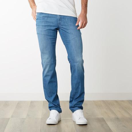 Patrizio Five Pocket Slim Fit Denim // Light Blue (31)