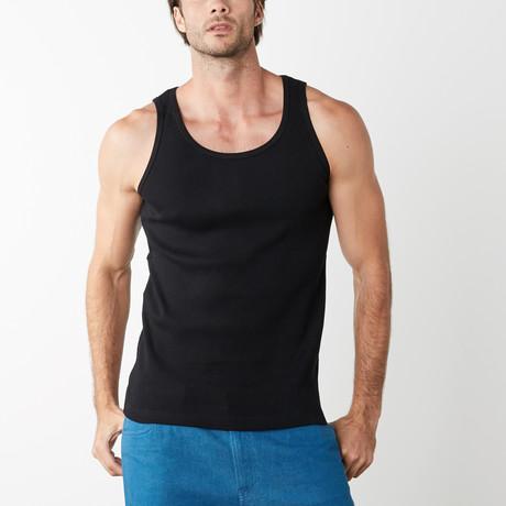 Kona Jersey Knit Tank // Black (XS)