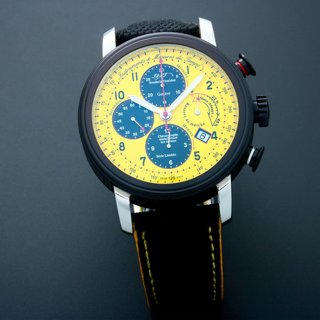 Golay Power Reserve Chronograph Automatic // Pre-Owned