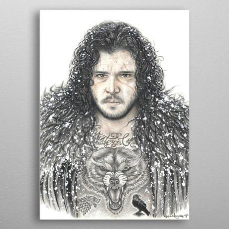 Jon Snow Pencil Art
