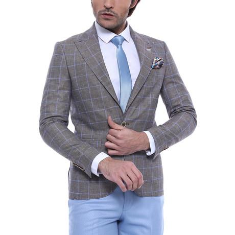 Calum Slim Fit Blazer // Gray (Euro: 44)