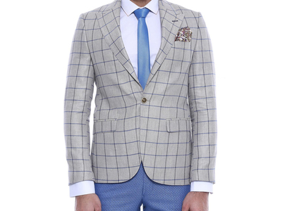 Wessi Sophisticated, Slim Fit Blazers Arron Blazer // Brown (Euro: 44) by Touch Of Modern - Anniversary Gifts for Him