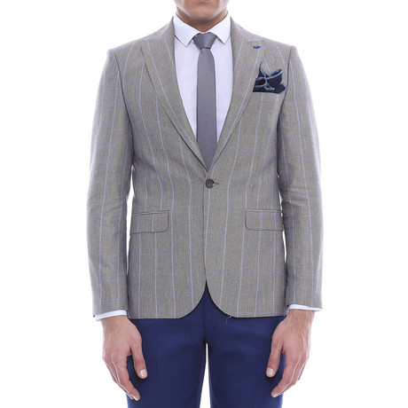 Jamie Slim Fit Blazer // Gray (Euro: 44)
